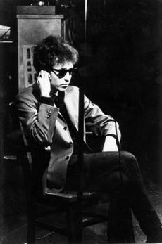 , 'Bob Dylan sits for his Screen Test,' 1965, Milk Gallery