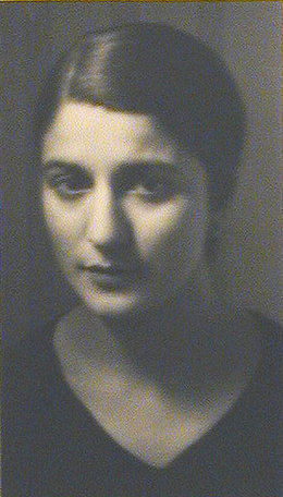 , 'Portrait of  Mlle Jaffe,' 1927, Weston Gallery