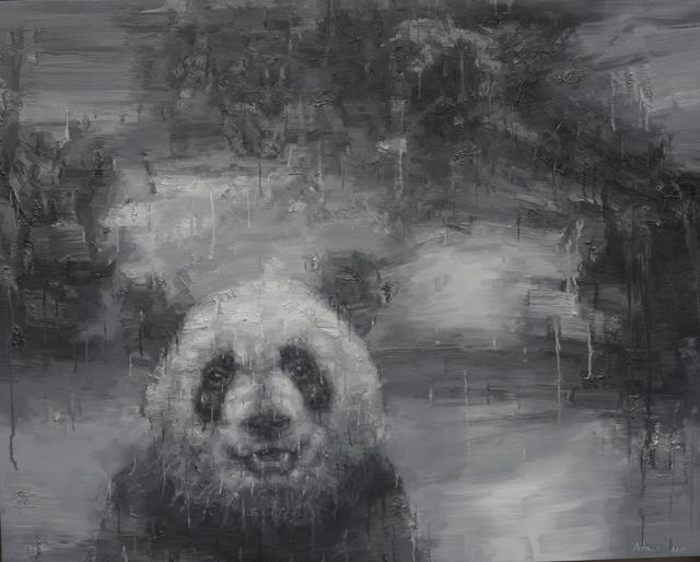 , 'Shan Shui with Panda 1704 Black,' 2017, Nanda\Hobbs