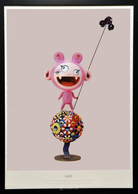 Takashi Murakami, 'Takashi Murakami  X Garage KiKi Limited Print', 2018, Posters, Offset Print, Curator Style