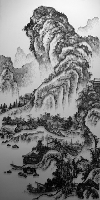 , 'Imitating the Landscape painting by Anonymous Artist from Song Dynasty 3,' 2016, Double Square Gallery