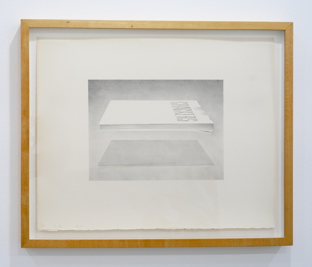 Ed Ruscha, 'Crackers', Kantor Gallery