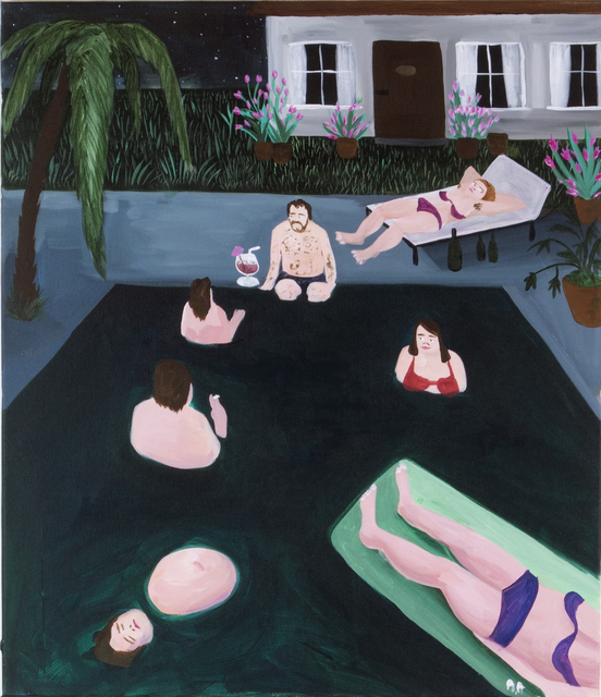 , 'Marbella Nights,' 2018, Kristin Hjellegjerde Gallery