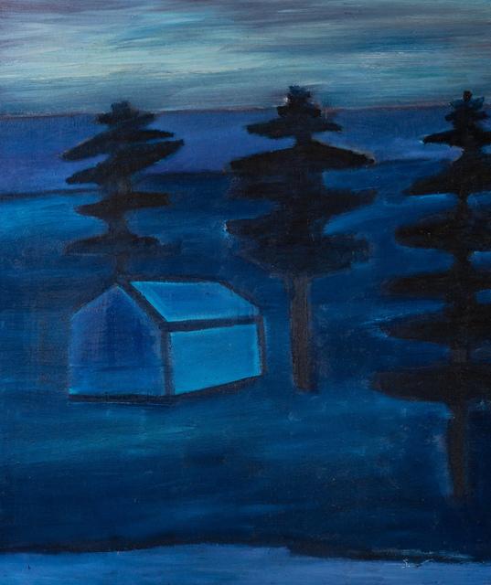 Tom Hammick, 'Refuge', 2017-2020, Painting, Oil on canvas., Lyndsey Ingram