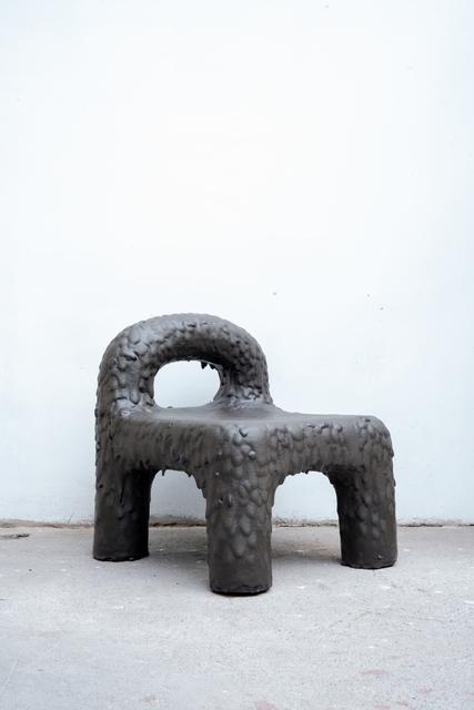 , 'Remolten N1: Monolita Low Chair 15, Mahuanco, Osorno Volcano,' June 3rd-2019, Friedman Benda