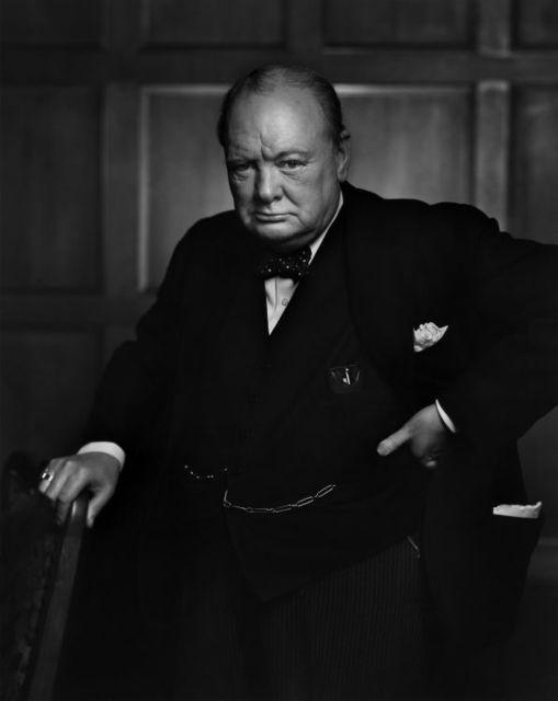 , ' Winston Churchill,' 1941, Huxley-Parlour
