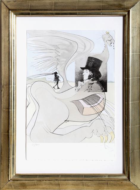 Salvador Dalí, 'Les Caprices de Goya, Plate #80', 1977, Print, Etching with Aquatint, RoGallery