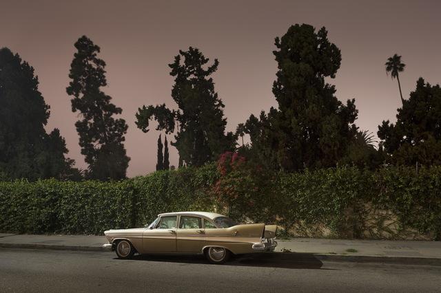 , 'Sleeping Car, Van Ness Avenue,' 2012, Fahey/Klein Gallery