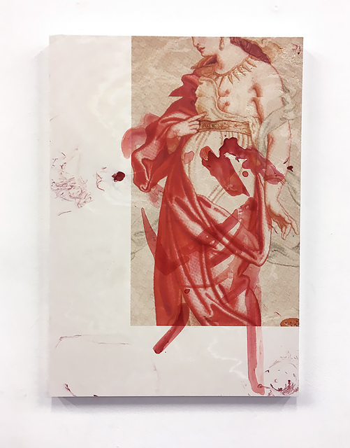 Peles Empire, 'CLEOPATRE 10', 2019, Mixed Media, Paint and print on pigmented jesmonite, The Watermill Center Benefit Auction