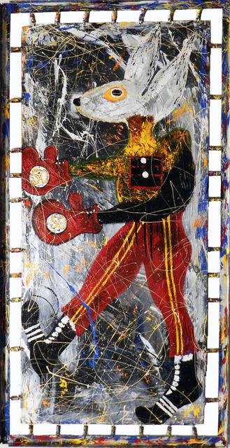 , '50/50,' 2014, Seraphin Gallery