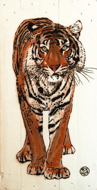 , 'Tigre Blanc,' 2016, Galerie Art Jingle