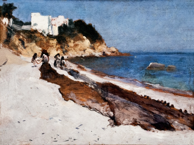 John Singer Sargent, 'Marina Grande, Capri', 1878, Adelson Cavalier Galleries