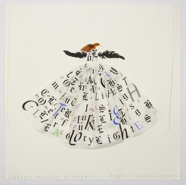 , 'Hummingbird Dress,' 2013, Tamarind Institute