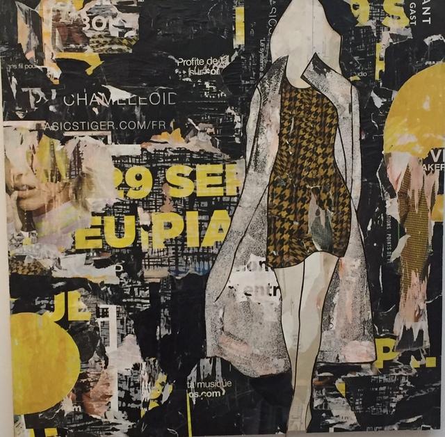 , 'Yellow Houndstooth ,' , Joanne Artman Gallery