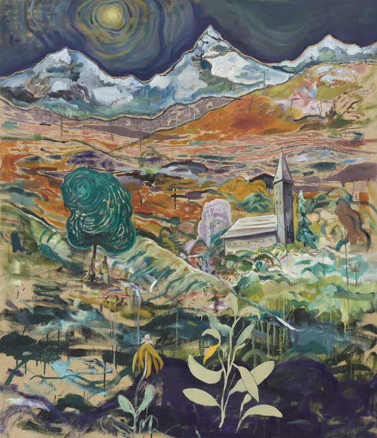 Pierre Knop, 'Church', 2020, Painting, Oil and mixed media on canvas, CHOI&LAGER