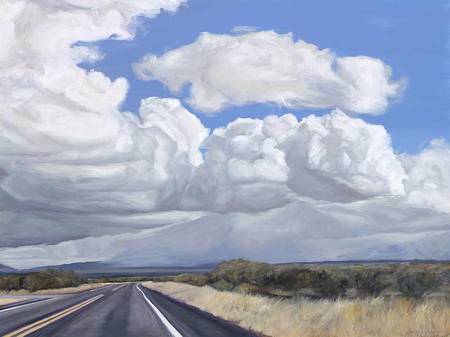 , 'Arizona Highway, Sierra Vista,' 2019, Sue Greenwood Fine Art
