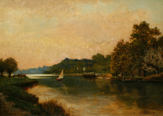 , 'River Twilight,' 1886, ACA Galleries