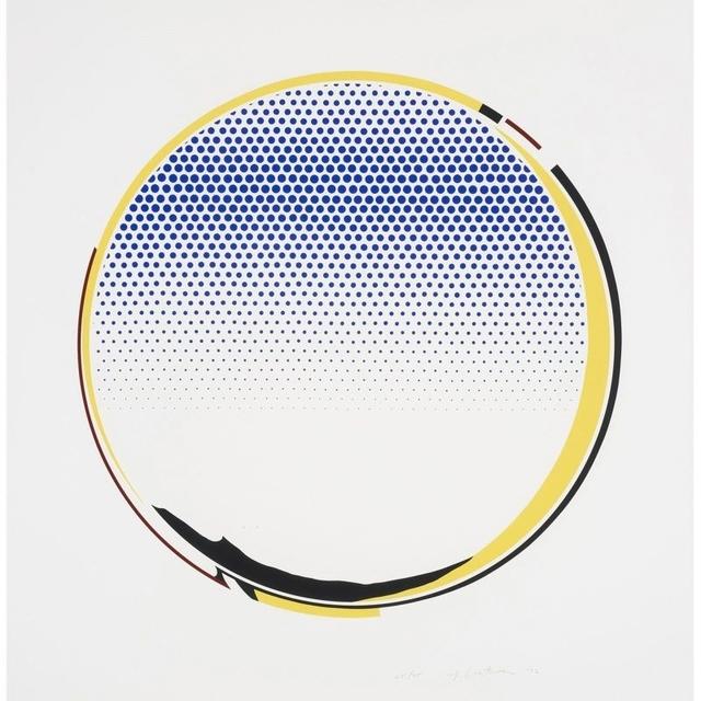 Roy Lichtenstein, 'Mirror', 1972, Print, Five-color screenprint, Taglialatella Galleries