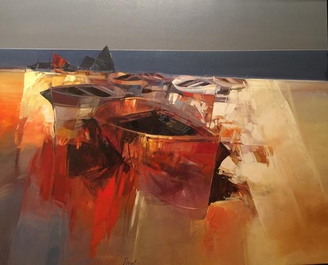, 'Barche Rosse,' , Cosmopolitan Fine Arts