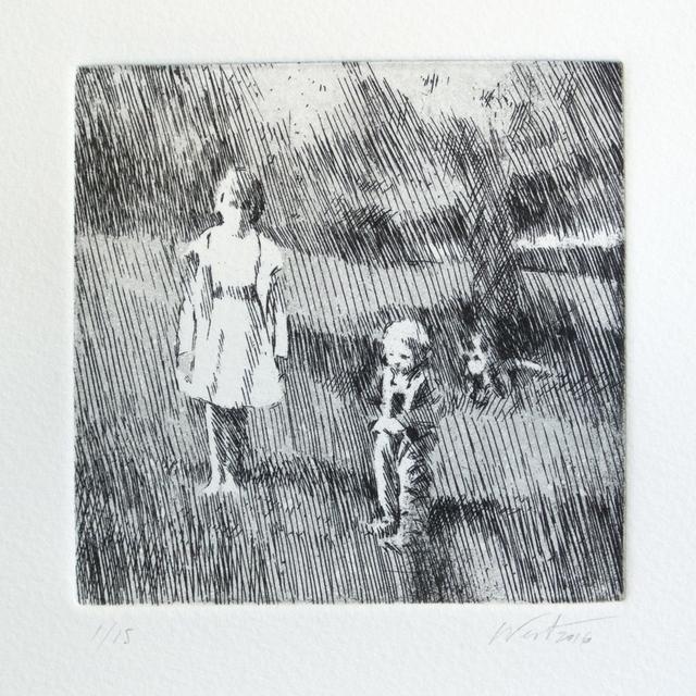 , '3 figures,' 2016, Anquins Galeria