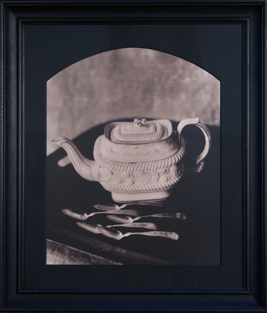 , 'Castleford Teapot with Five Coin Silver Teaspoons at Dawn, Stone Ridge, NY,' 1990, Gallery 270