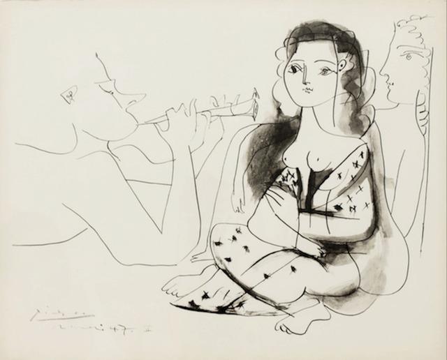 Pablo Picasso, 'Le Concert', 1956, Dawson Cole Fine Art