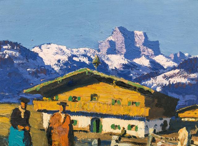 , 'farm house,' ca. 1930, Galerie Kovacek & Zetter