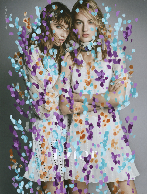 , 'Untitled (Maartje Verhoef and Grace Hartzel by Patrick Demarchelier for Dior),' 2016, Danziger Gallery