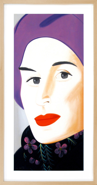 "Alex Katz, 'Purple Hat ""Ada""', 2017, Acquisitions Of Fine Art"