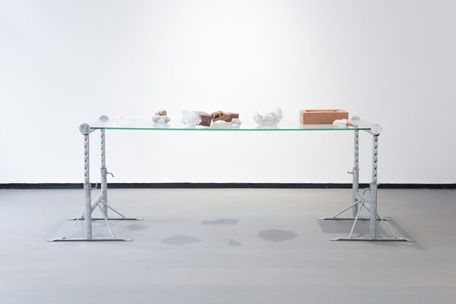 , 'Body~Build (model table),' 2017, REITER