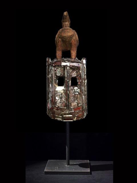, 'Mirror Mask,' 2013, Galerie Nagel Draxler
