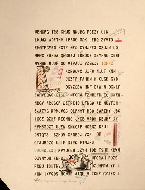 Leandro Katz, 'BBB (Beatrice´s Black Book)', 1983-1985, Herlitzka + Faria