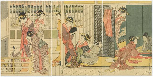 , 'Early Morning at a Temporary Brothel,' ca. 1800, Sebastian Izzard LLC Asian Art