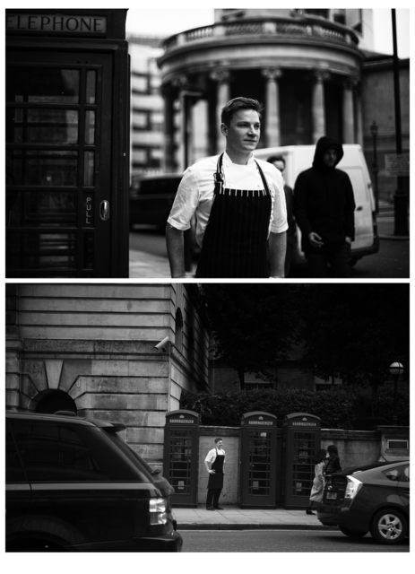 , '(People's Chefs) - Chris King,' 2012, Art Beatus