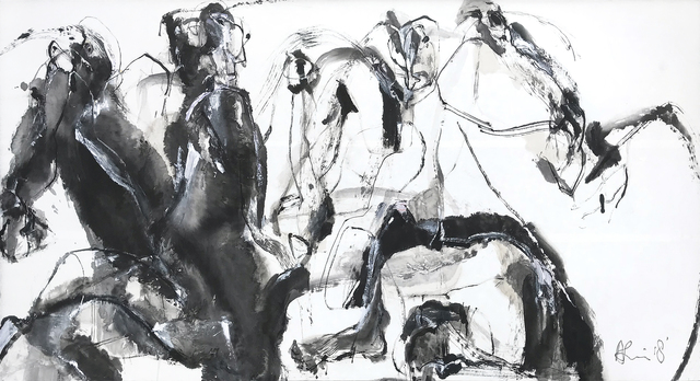 , 'Equinox II,' 2018, Han Art
