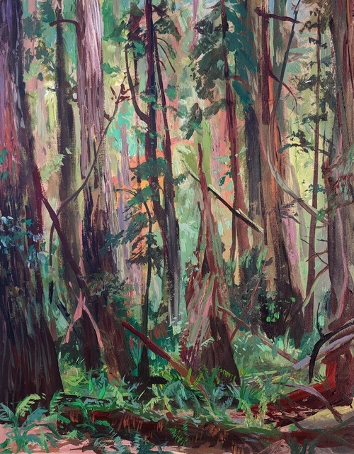 , 'Jedidiah Smith State Park, in the thick of things,' 2019, 1969 Gallery