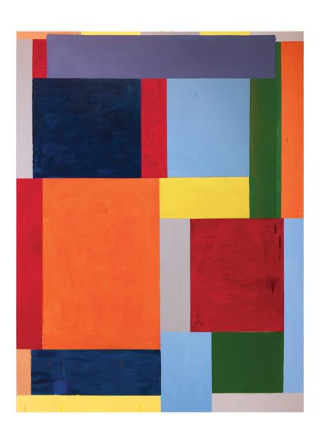 Thornton Willis, 'road block', 2020, Painting, Acrylic on canvas, Elizabeth Harris Gallery