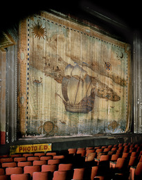 Fire Curtain, Liberty Theater, 42nd Street, Times Square