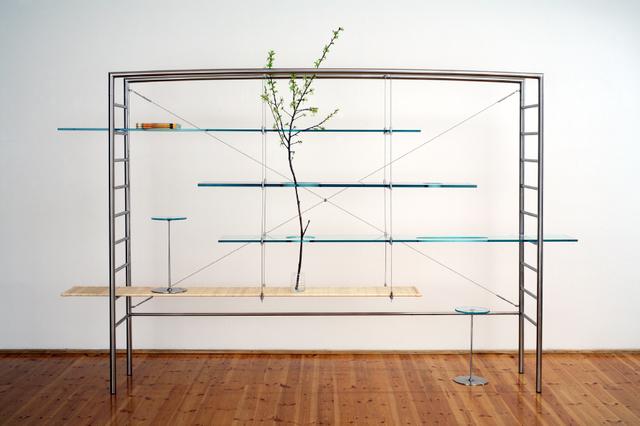 """, '""""Pierced Bookcase"""",' 2006, Casati Gallery"""