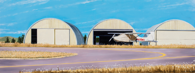 , 'Three Quonset Huts,' 2018, Russo Lee Gallery