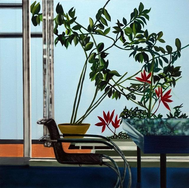, 'Villa Tugenhadt With Blue Table (Mies Van De Rohe),' 2019, Galleri Christoffer Egelund