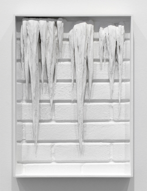 , 'Icicles on Brick,' 2017, Inman Gallery