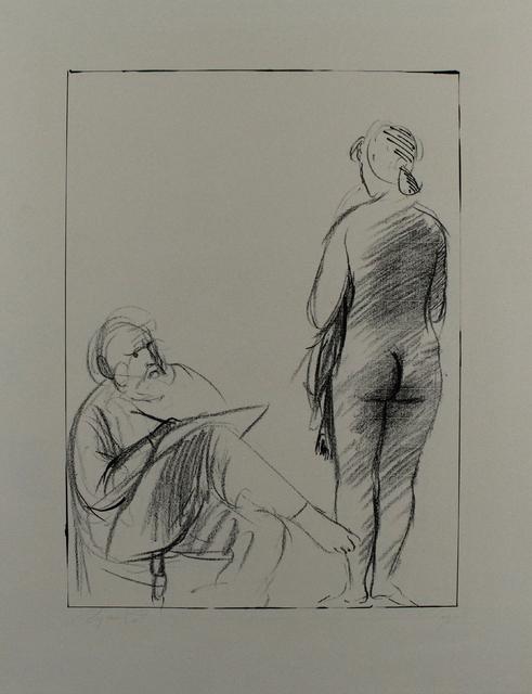 , 'Pittore e modella,' 1965, Sylvan Cole Gallery