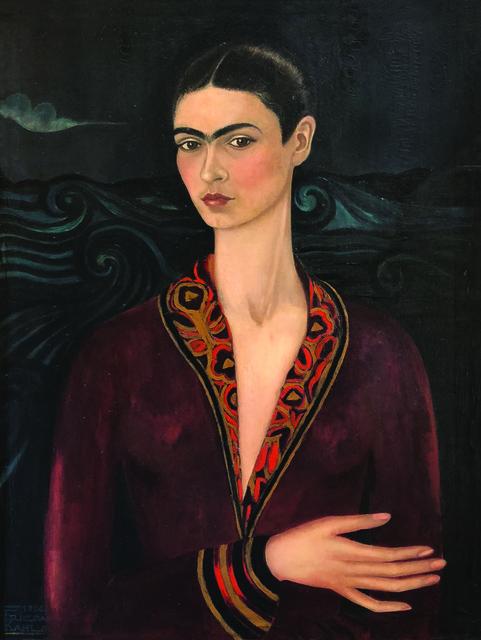 , 'Autorretrato con traje de terciopelo,' 1926, Galeria Enrique Guerrero