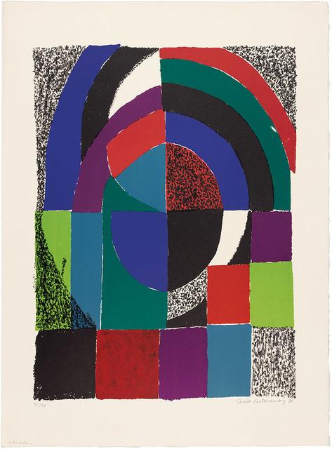 Sonia Delaunay, 'Cathédrale', 1971, Doyle