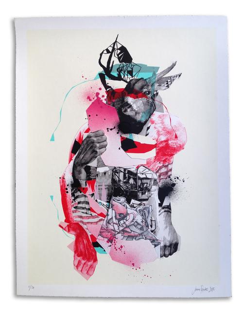 , ''Buckwild' Hand Embellished # 11,' 2015, StolenSpace Gallery