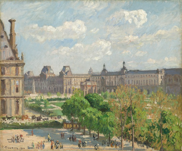 Camille Pissarro, 'Place du Carrousel, Paris', 1900, National Gallery of Art, Washington, D.C.