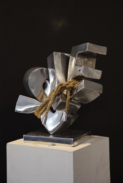 Stéphane Cipre, 'Love sanglé', 2020, Sculpture, Aluminium, Bogena Galerie