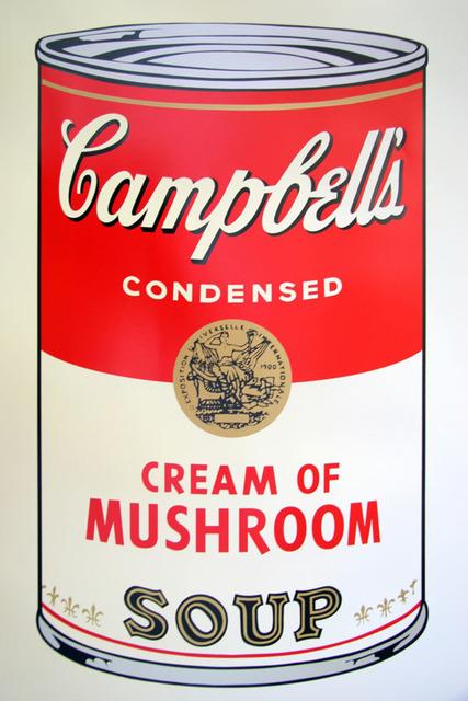 Andy Warhol, 'Campbell's Soup - Cream of Mushroom - Sunday B. Morning (After)', ARTEDIO