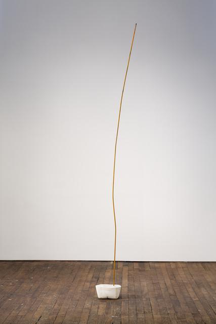 Eric Hattan, 'Liquid Max', 2019, Sculpture, Metal and concrete, Peter Freeman, Inc.
